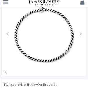 James Avery  Sterling Silver Hook Bracelet